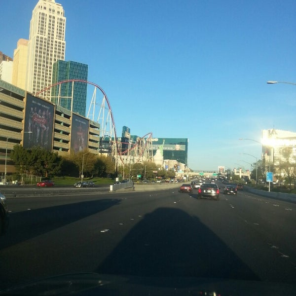 Photo taken at The Las Vegas Strip by Russell A. on 3/12/2014