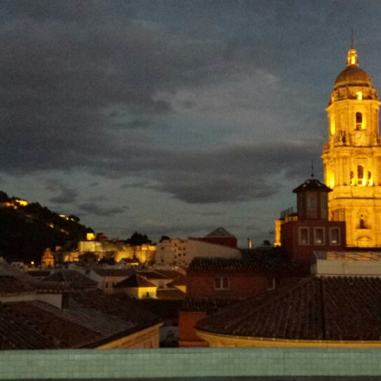 Photo taken at Room Mate Larios Hotel by .Ramón B. on 10/15/2014