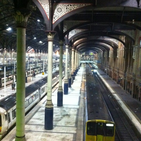 Photo taken at London Liverpool Street Railway Station (LST) by Daphne B. on 3/9/2013