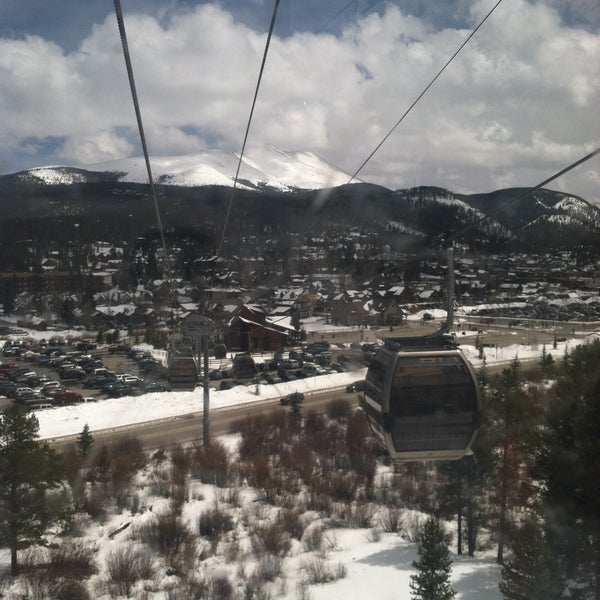 Photo taken at Breck Connect Gondola by Stacy S. on 4/21/2013