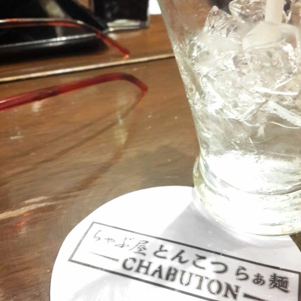 Photo taken at Chabuton Ramen by PongPong on 9/8/2014