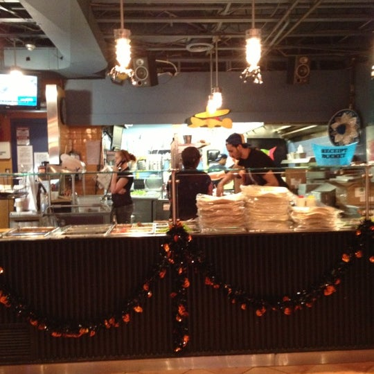 Photo taken at Burrito Boyz by Chris M. on 10/18/2012