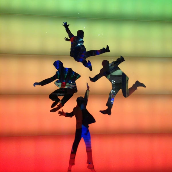 Photo taken at The Beatles LOVE (Cirque Du Soleil) by Enrique V. on 4/12/2013