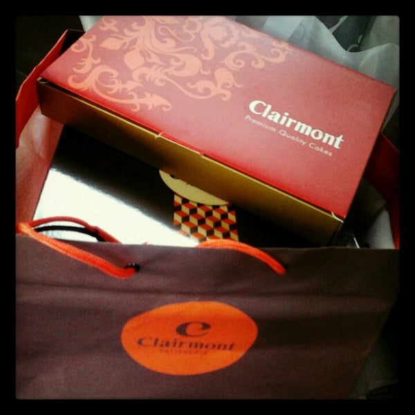 Photo taken at Clairmont Patisserie by Kimmy H. on 4/23/2013