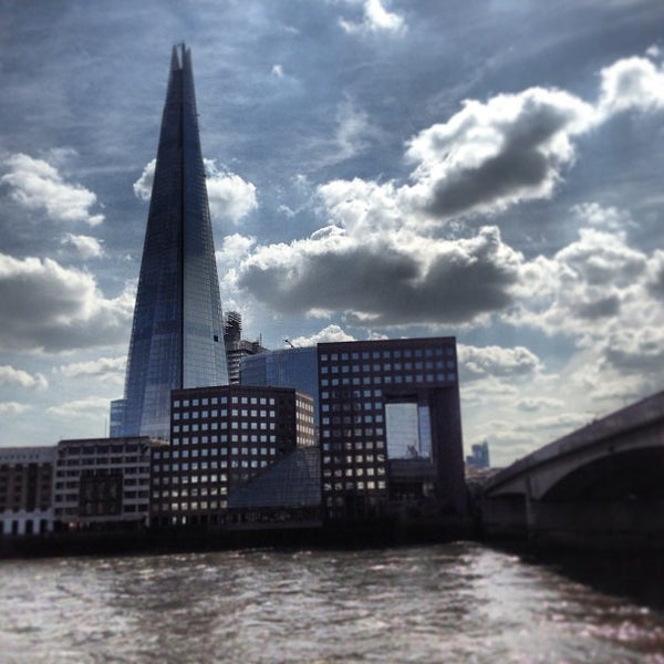 Photo taken at London Bridge by Paulo B. on 4/21/2013