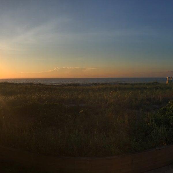Photo taken at Carolina Beach by Rebecca B. on 7/26/2015