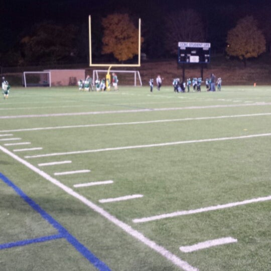 Photo taken at CCBC Dundalk - Athletic Stadium by Roger G. on 11/9/2013
