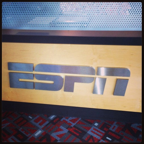 Photo taken at ESPN by David R. on 1/1/2013