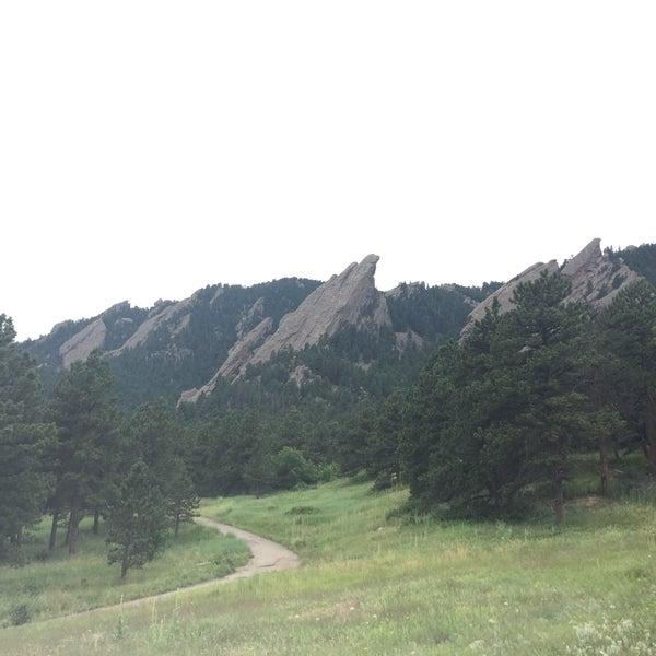 Photo taken at Colorado Chautauqua National Historic Landmark by Jennifer Y. on 7/19/2015