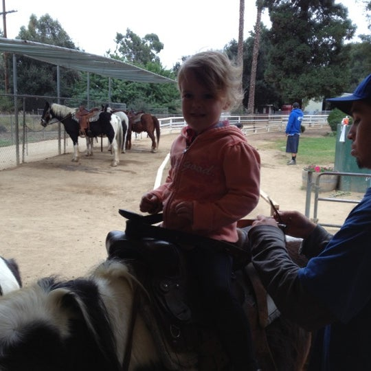 Photo taken at Griffith Park Pony Rides by Steve Scott S. on 11/8/2012