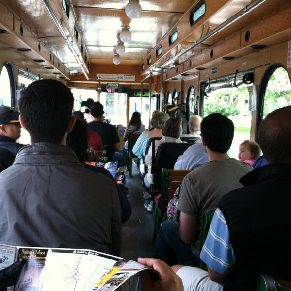 Photo taken at Old Town Trolley Tours of Boston by Jessica w/ E. on 6/8/2013