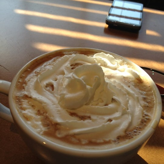 Photo taken at Luna Bakery Café by Arps on 10/24/2012