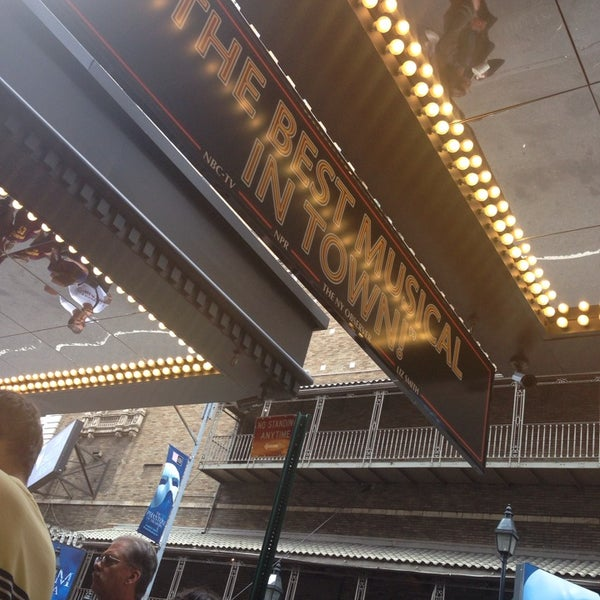 Photo taken at St. James Theatre by Melissa S. on 8/17/2014