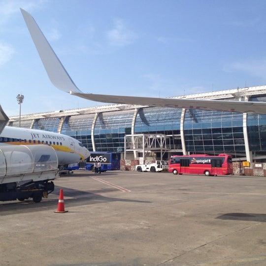 Photo taken at Dabolim Goa International Airport (GOI) by Dmitry M. on 12/28/2012