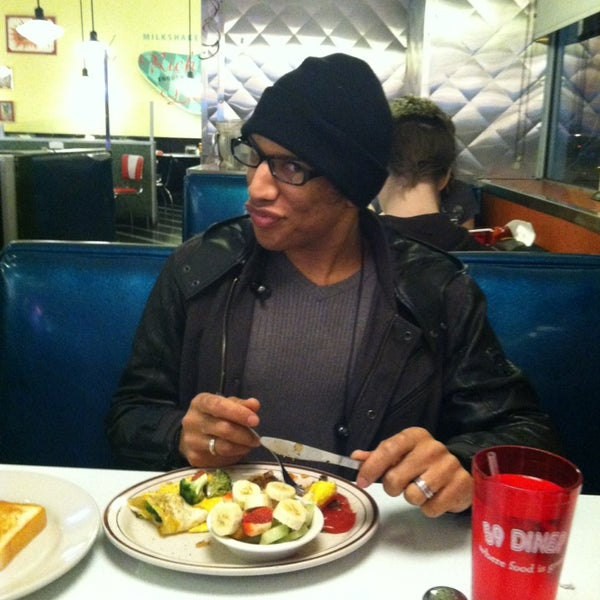 Photo taken at 59 Diner by James A. on 1/14/2014