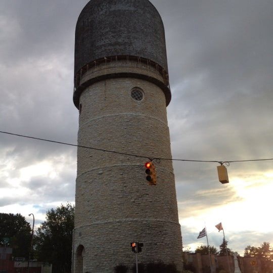 Photo taken at Ypsilanti Water Tower by J Z. on 9/23/2012