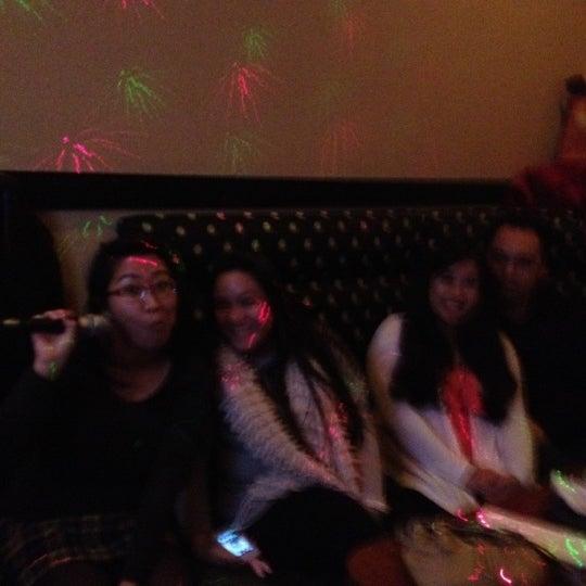 Photo taken at Chorus Karaoke and Cafe by Jojo J. on 12/16/2012