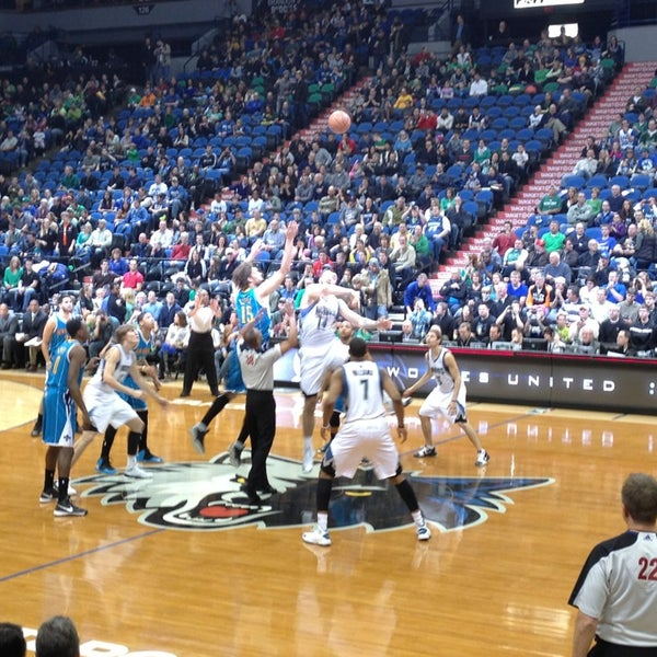 Photo taken at Target Center by Anne D. on 3/17/2013