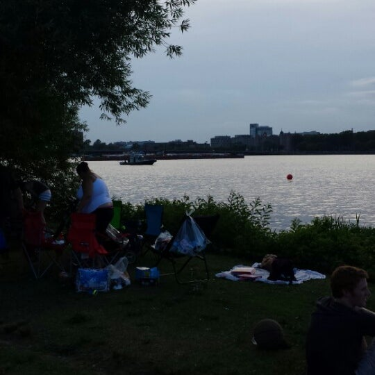 Photo taken at The Esplanade by Cameron B. on 7/3/2014