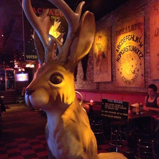 Photo taken at The Jackalope by Douglass R. on 11/16/2012