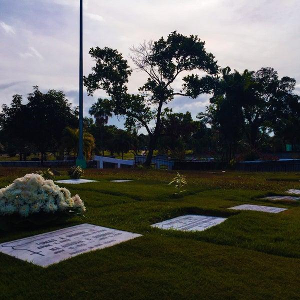 Photo taken at Manila Memorial Park by Jr V. on 2/1/2015