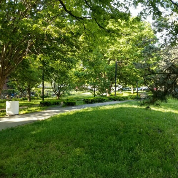 Photo taken at SW Corridor Park - Back Bay by joseph r. on 5/23/2016