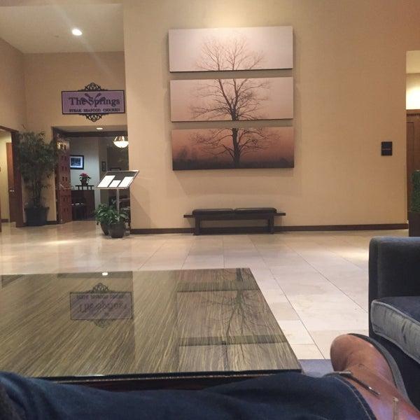 Photo taken at The Saratoga Hilton by Jeremiah J. on 1/6/2016