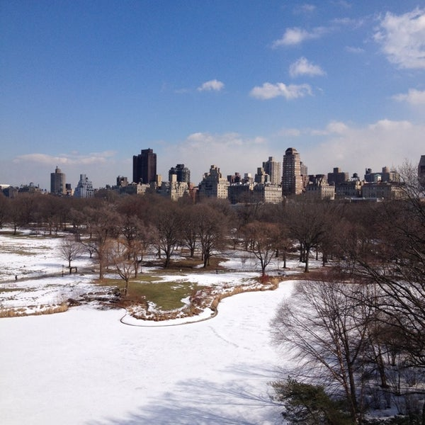 Photo taken at Belvedere Castle by ed A. on 2/27/2014
