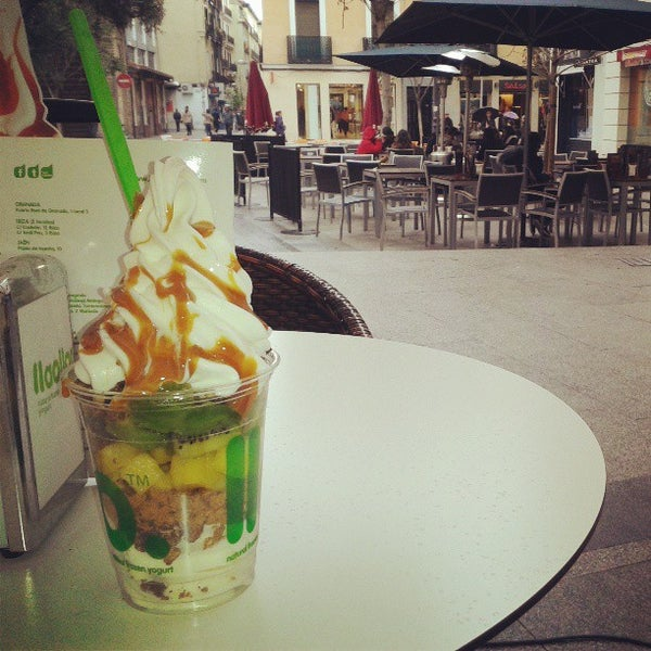 Photo taken at llaollao by Sofía P. on 4/2/2013