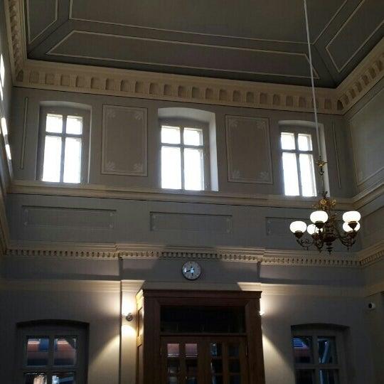 Photo taken at Tartu Raudteejaam by Natalya I. on 10/11/2015
