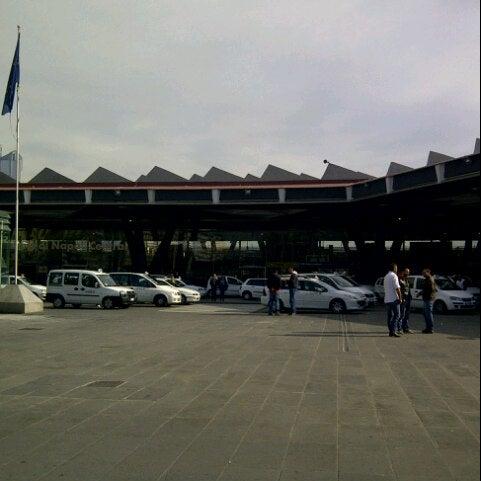 Photo taken at Stazione Napoli Centrale by Sergio on 11/10/2012