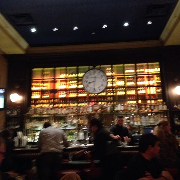 Photo taken at Left Bank Brasserie by Arthur C. on 3/1/2014