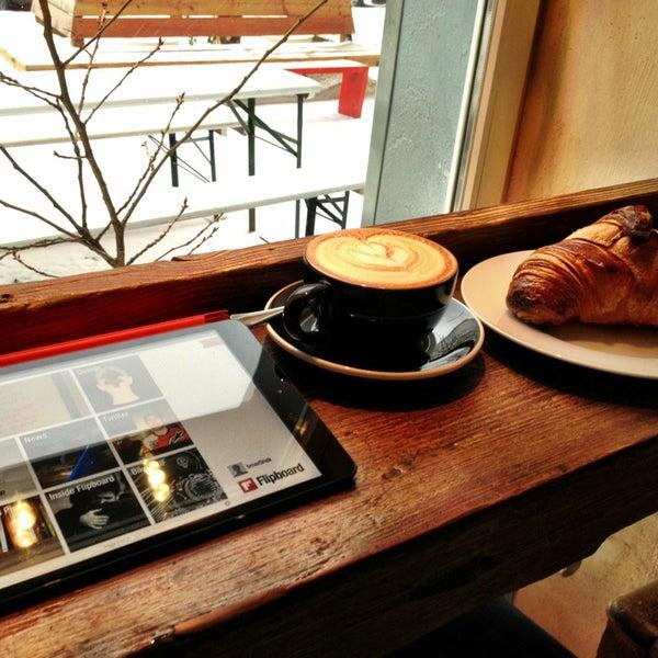 Photo taken at Bonanza Coffee by Ben M. on 12/23/2012
