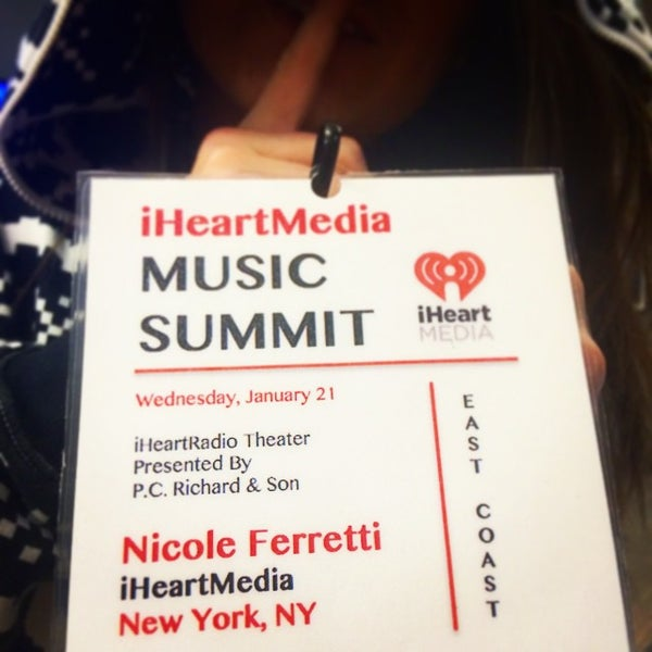 Photo taken at iHeartRadio Theater by Kathleen B. on 1/21/2015