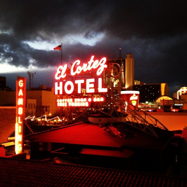 Photo taken at El Cortez Hotel & Casino by JoJo P. on 1/12/2013