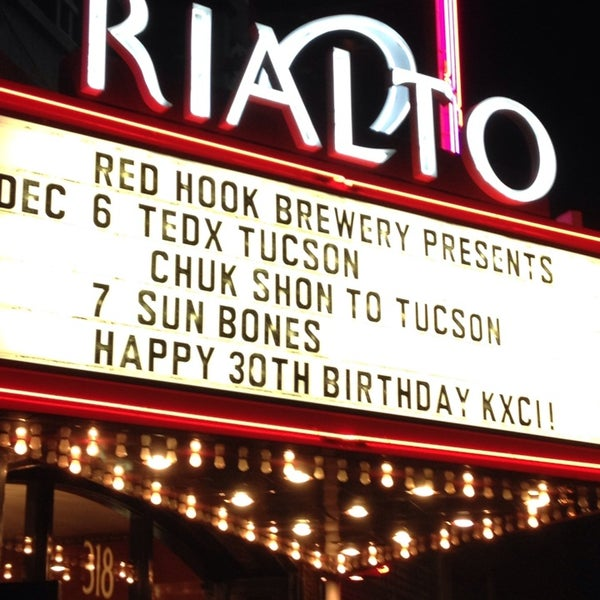 Photo taken at The Rialto Theatre by Terri S. on 12/7/2013