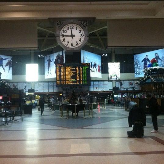 Photo taken at MBTA South Station by Sean W. on 12/8/2012