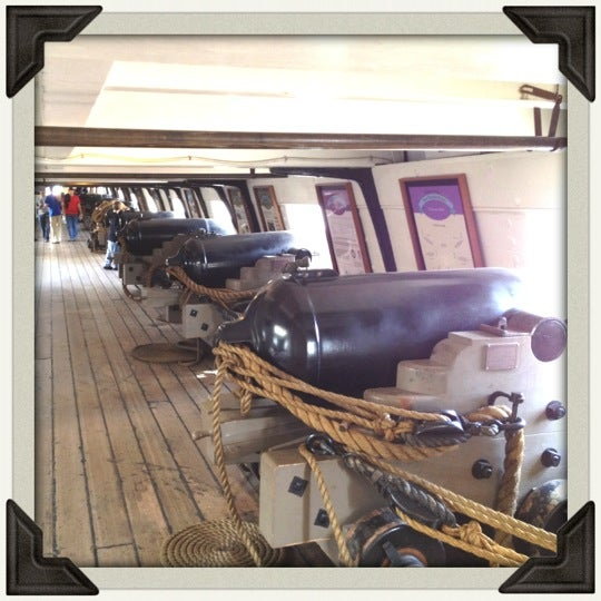 Photo taken at USS Constellation by Anthony W. on 10/27/2012