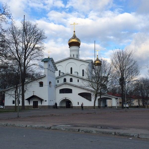 Photo taken at Псков / Pskov by Andrew B. on 4/20/2015