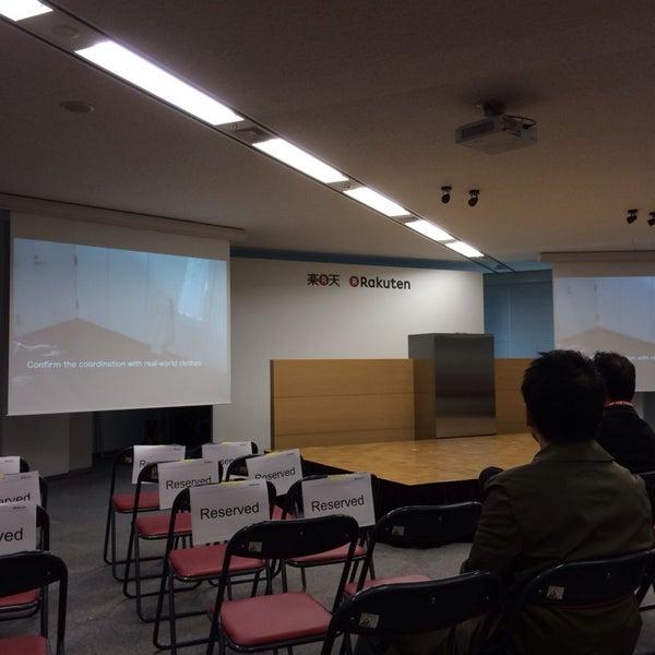 Photo taken at Rakuten Tower 1 by Kenichi M. on 10/26/2013