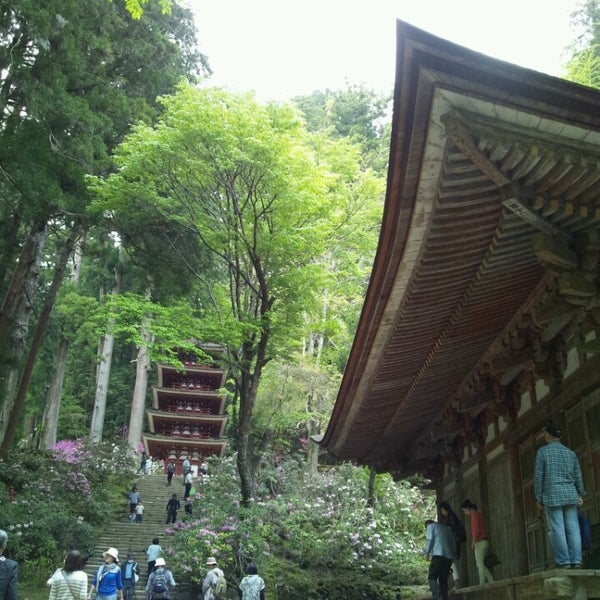 Photo taken at 室生寺 (Murouji Temple) by Tadahiro O. on 5/4/2013