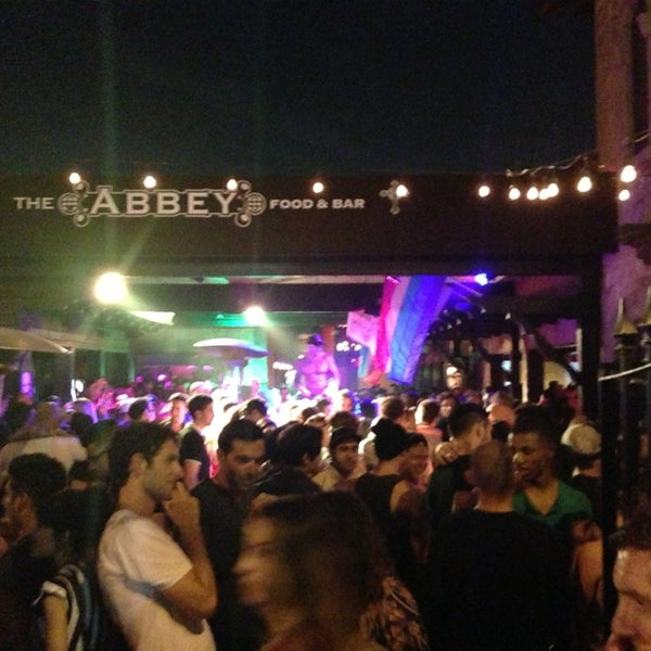 Photo taken at The Abbey Food & Bar by Shawn 🍳 on 6/22/2013