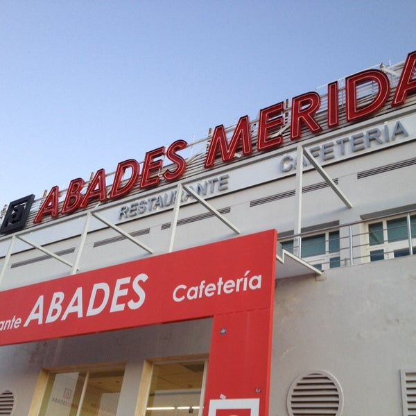 Photo taken at Abades Mérida by Jqn on 12/25/2013