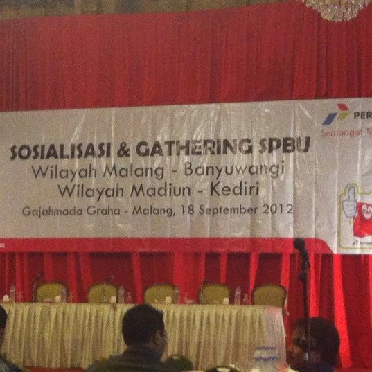 Photo taken at Hotel Gajahmada Graha by Farid A. on 9/18/2012