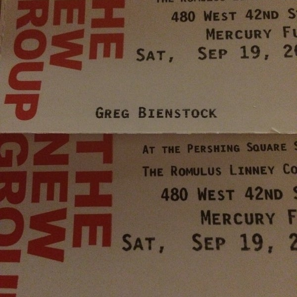 Photo taken at Pershing Square Signature Theater by Greg B. on 9/19/2015