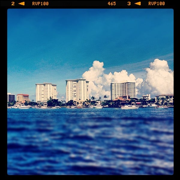 Photo taken at Lake Boca Raton by Aaron M. on 9/29/2012