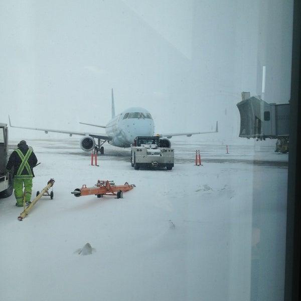 Photo taken at Saskatoon John G. Diefenbaker International Airport (YXE) by Andreas L. on 3/17/2013