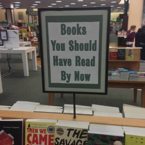 Photo taken at Barnes & Noble by Nick F. on 3/5/2013