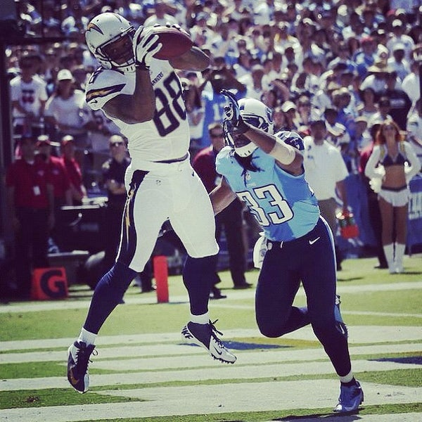 Photo taken at Qualcomm Stadium by Chargers M. on 9/17/2012
