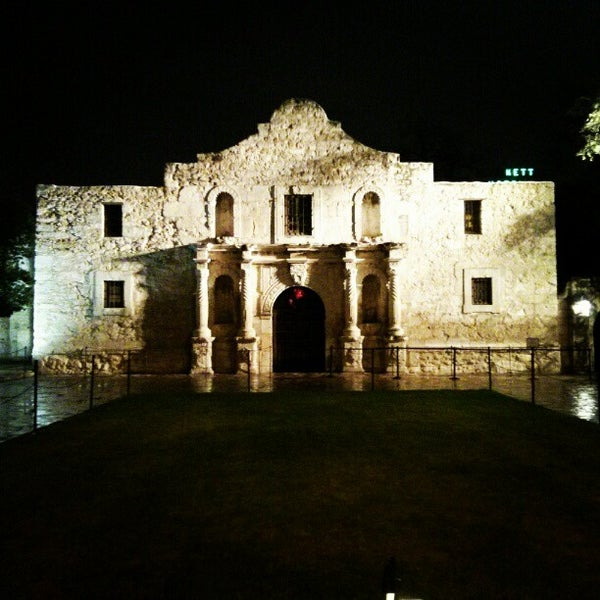 Photo taken at The Alamo by Miguel P. on 1/1/2013